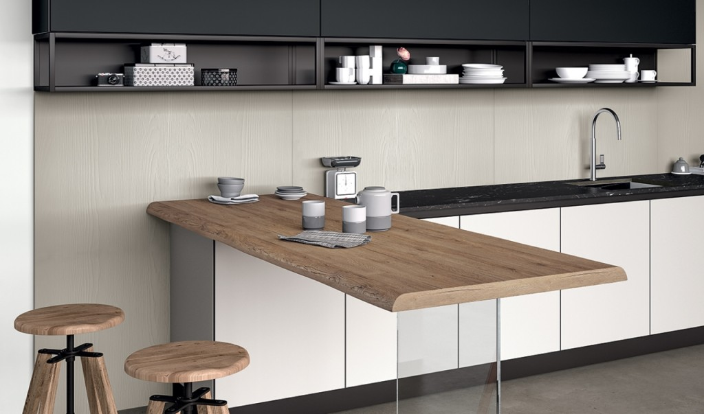 Cucina Arredo 3 Glass | CENTROCUCINE di FULL | Centro cucine