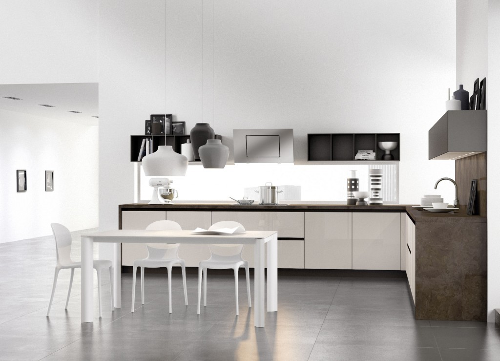 Cucina arredo 3 glass centrocucine di full centro cucine for Arredo cucina moderna