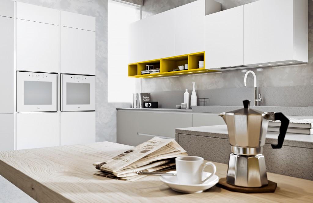Prezzi cucine arredo 3 cucina moderna in laminato wega for Cucina luna arredo3 prezzi