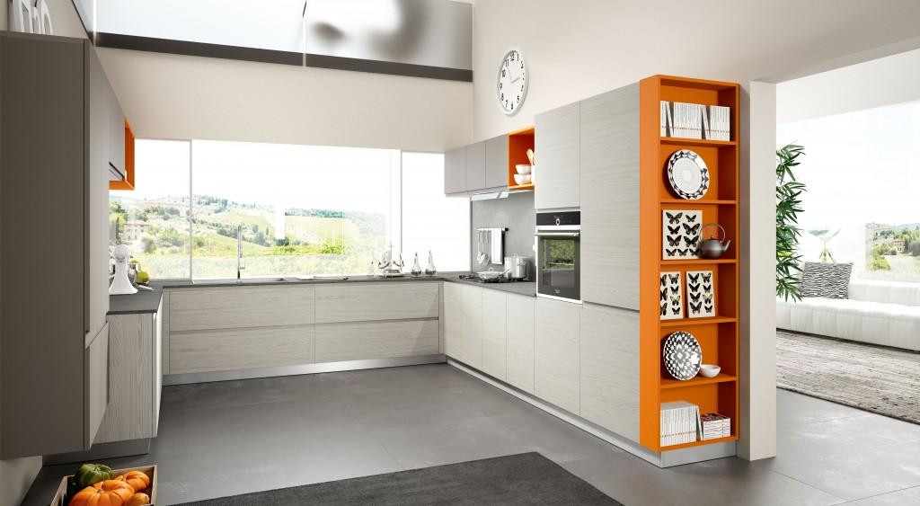 Cucina arredo 3 wega centrocucine di full centro cucine - Esempi di cucine moderne ...